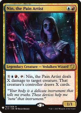 Nin, Artista del Dolor - Nin, the Pain Artist (Mystery Booster)