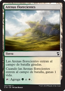 Arenas florecientes - Blossoming Sands