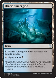 Osario sumergido - Submerged Boneyard