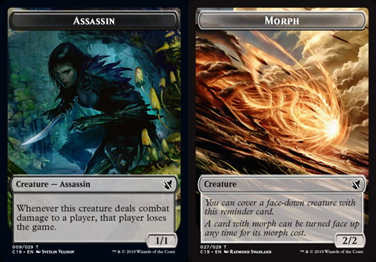 Ficha doble Asesino-Metamorfosis / Assassin-Morph Token