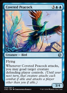 Coveted Peacock