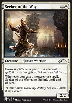 Buscador de la sabiduría - Seeker of the Way (Promo Foil)
