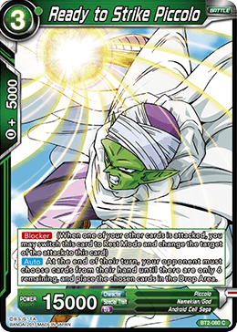 Ready to Strike Piccolo