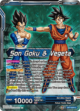 Son Goku & Vegeta // SSB Vegito, Energy Eruption