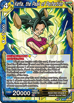 Kefla, the Peak of Perfection