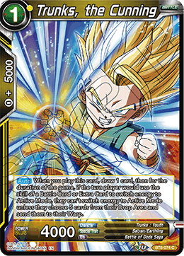 Trunks, the Cunning (Foil)