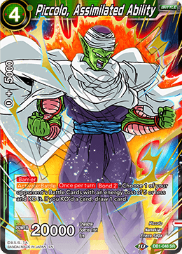 Piccolo, Assimilated Ability