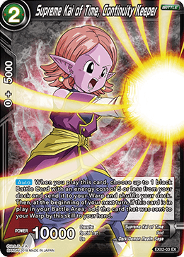 Supreme Kai of Time, Continuity Keeper (Foil)