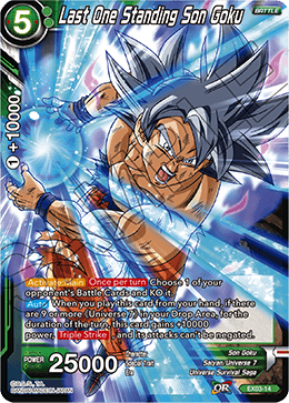 Last One Standing Son Goku (Foil)
