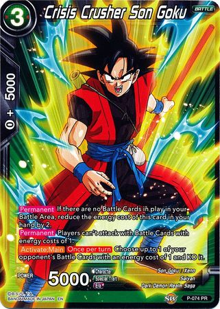 Crisis Crusher Son Goku (Alternate Art)(Foil)