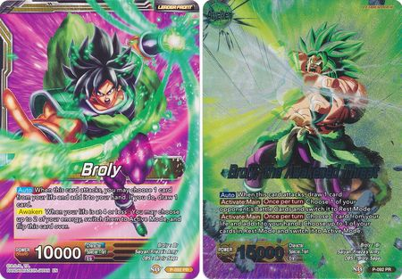 Broly // Broly, the Awakened Threat (Magnificent Collection)