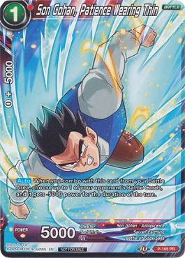 Son Gohan, Patience Wearing Thin (Foil)