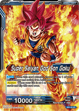 Super Saiyan God Son Goku