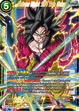 Reborn Might SS4 Son Goku (Foil)