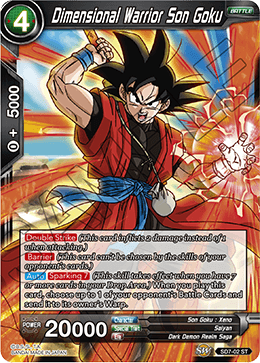Dimensional Warrior Son Goku