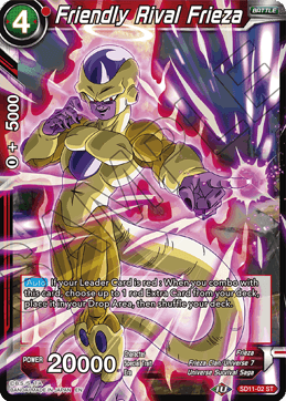 Friendly Rival Frieza (Foil)