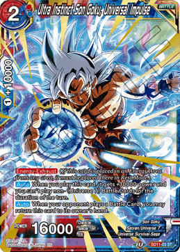 Ultra Instinct Son Goku, Universal Impulse (Foil)