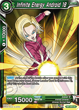Infinite Energy Android 18