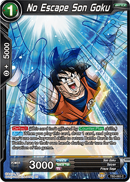 No Escape Son Goku (Foil)