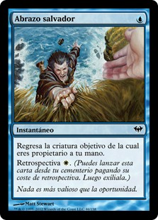 Abrazo salvador - Saving Grasp
