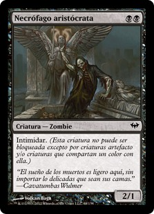 Necrófago aristócrata - Highborn Ghoul