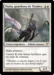 Thalia, guardiana de Thraben - Thalia, Guardian of Thraben