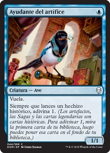 Ayudante del artífice - Artificer\'s Assistant (Foil)