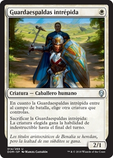 Guardaespaldas intrépida - Dauntless Bodyguard (Foil)