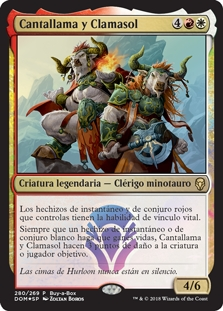 Cantallama y Clamasol - Firesong and Sunspeaker (Foil)