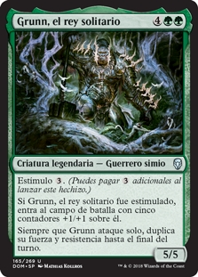 Grunn, el rey solitario - Grunn, the Lonely King (Pre-Release)(Foil)