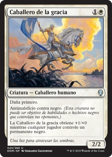 Caballero de la gracia - Knight of Grace