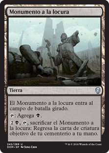 Monumento a la locura - Memorial to Folly