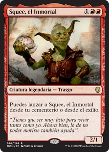 Squee, el Inmortal - Squee, the Immortal (Foil)(Pre-Release)