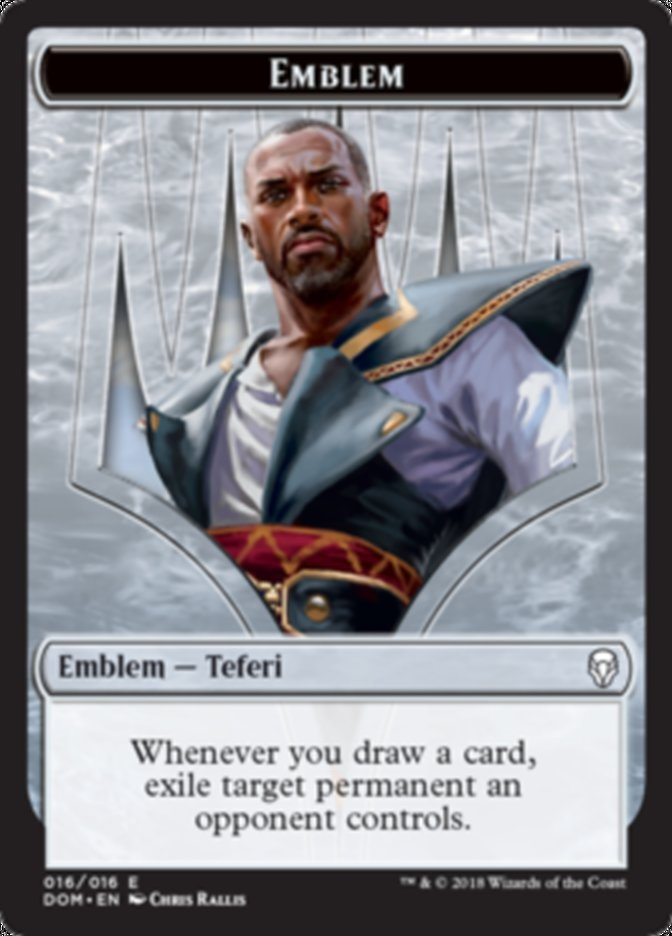 Teferi, Hero of Dominaria Emblem Token