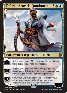 Teferi, héroe de Dominaria - Teferi, Hero of Dominaria (Chino)