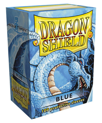 Protectores Dragon Shield - Azul (x100)