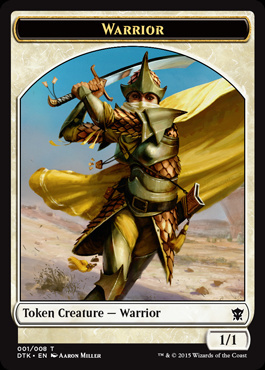 Ficha de Guerrero - Warrior Token