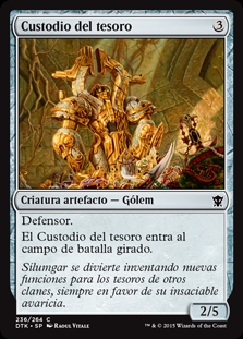 Custodio del tesoro - Custodian of the Trove