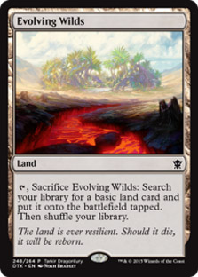 Terrenos expansivos - Evolving Wilds (Dragonfury Promo)
