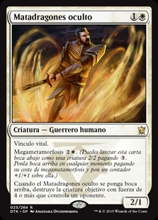Matadragones oculto - Hidden Dragonslayer