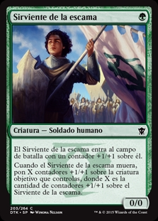 Sirviente de la escama - Servant of the Scale