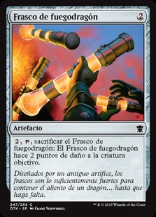Frasco de fuegodragón - Vial of Dragonfire