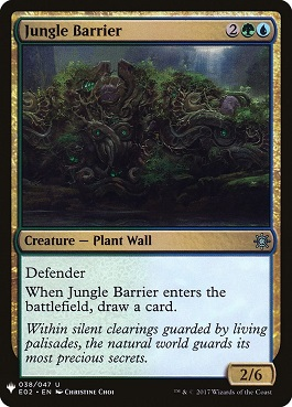 Barrera de selva - Jungle Barrier (Mystery Booster)