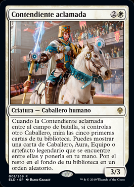 Contendiente aclamada - Acclaimed Contender (Pre-Release)(Foil)