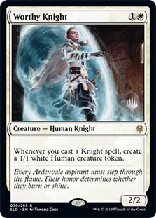 Caballero encomiable - Worthy Knight (Promo Pack)