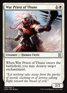 Sacerdote guerrero de Thune - War Priest of Thune (Foil)