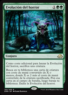 Evolución del horror - Eldritch Evolution