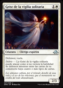 Geist de la vigilia solitaria - Geist of the Lonely Vigil (Foil)