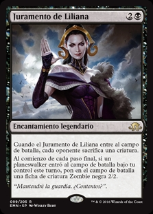 Juramento de Liliana - Oath of Liliana