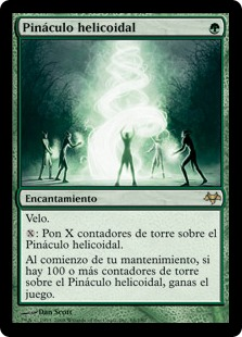 Pináculo helicoidal - Helix Pinnacle (Foil)